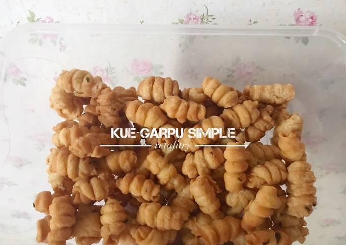Kue Garpu Simple (a.k.a Kue Bawang)