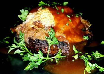 How to Recipe Appetizing Mikes EZ Sausage Stuffed Portobello Mushrooms