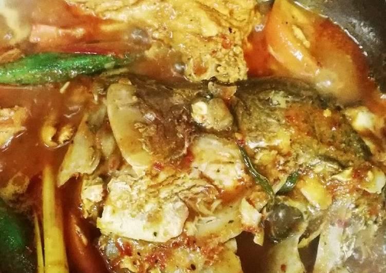 Asam Pedas Melaka kepala Ikan