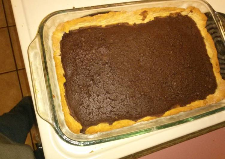 Simple Way to Make Quick Mimi's made over fudge pie bars
