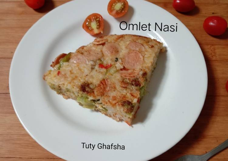 Omlet Nasi