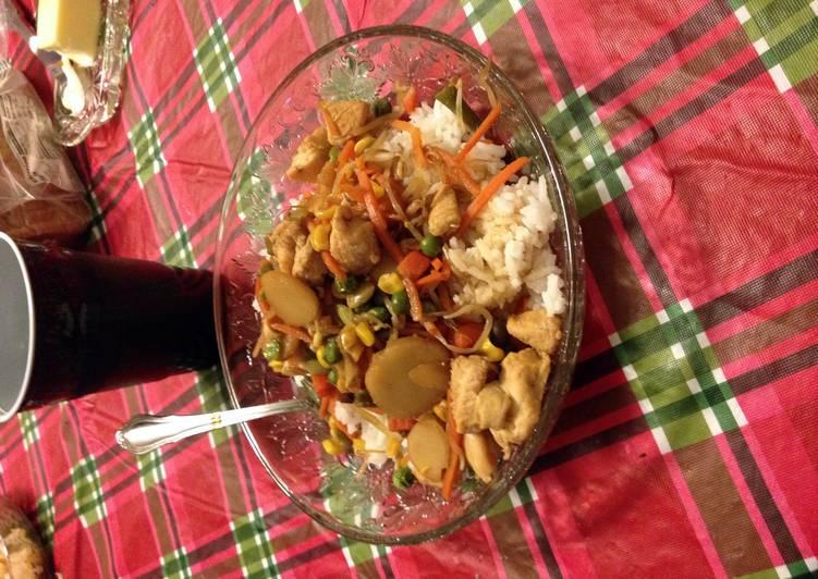 Rice Stir Fry