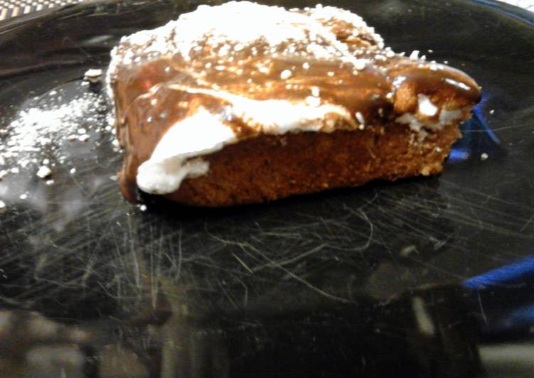 Grill Baked Smore's Cake, A Lot Of You May Not Realize This But Coconut Oil Can Have Great Health Advantages To It