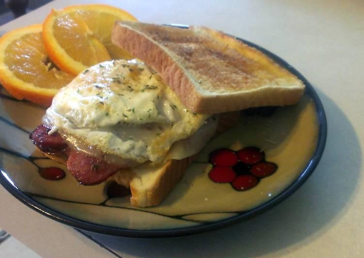 Recipe of Perfect Easy Breakfast Sandwich