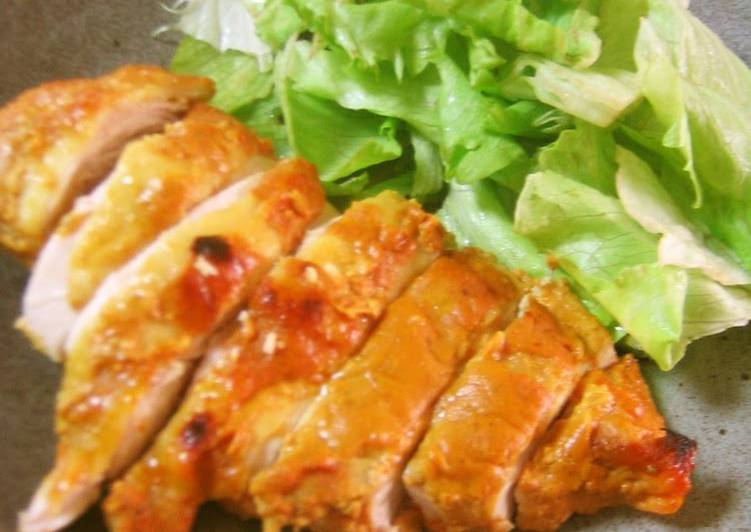 Simple, Moist, and Tender Tandoori Chicken Finding Nutritious Fast Food