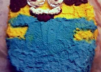 How to Cook Tasty Minion chocoorange birthday cake
