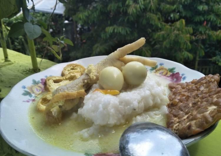 Bubur sayur lombok