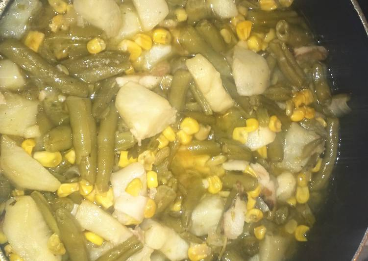 Simple Way to Make Super Quick Homemade Yummy Green Beans