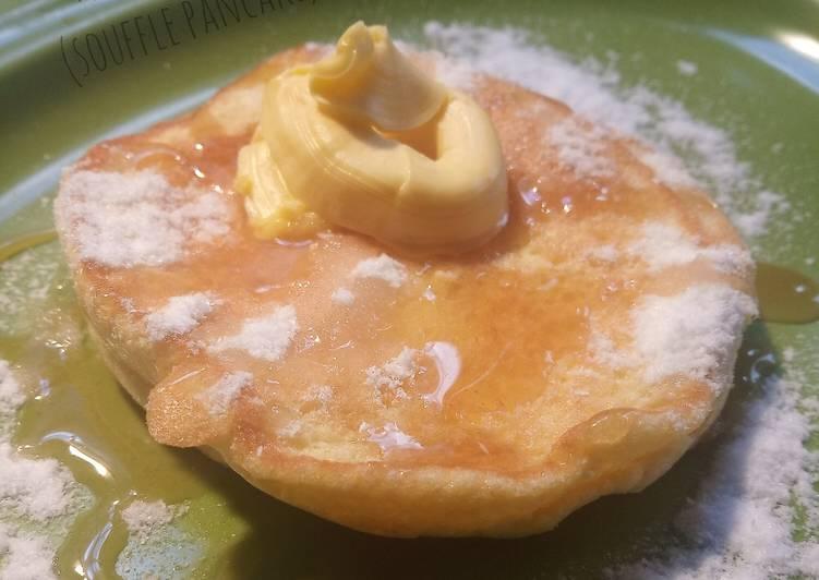 Resep Panekuk Jepang (Souffle Pancake) Paling Mudah