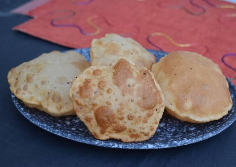 Steps to Make Speedy Ajwain Puri