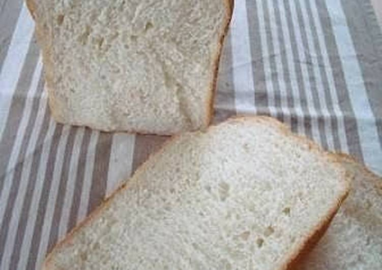 Simple Loaf Bread Using a Bread Machine