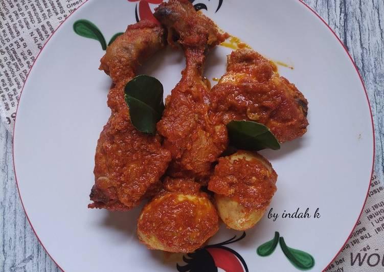 Ayam, Telur Bumbu Bali Asli