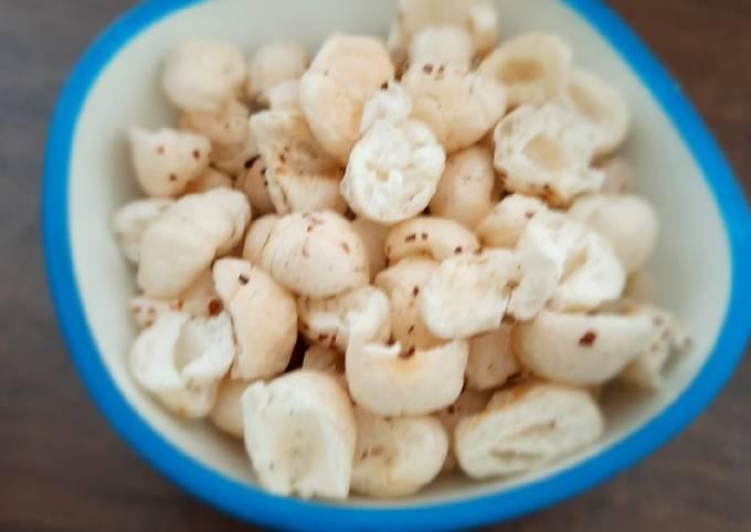 Crispy falahari makhana