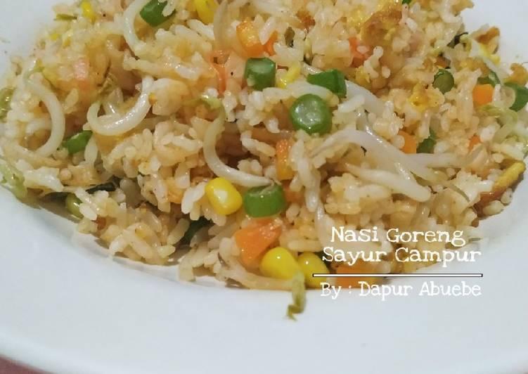 Nasi Goreng Sayur Campur