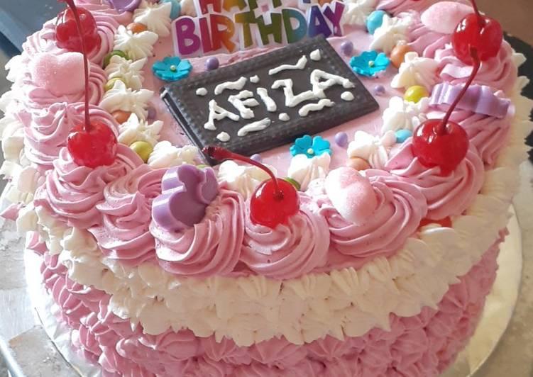 Resep Tart Ultah based cake brownies kukus Bikin Jadi Laper