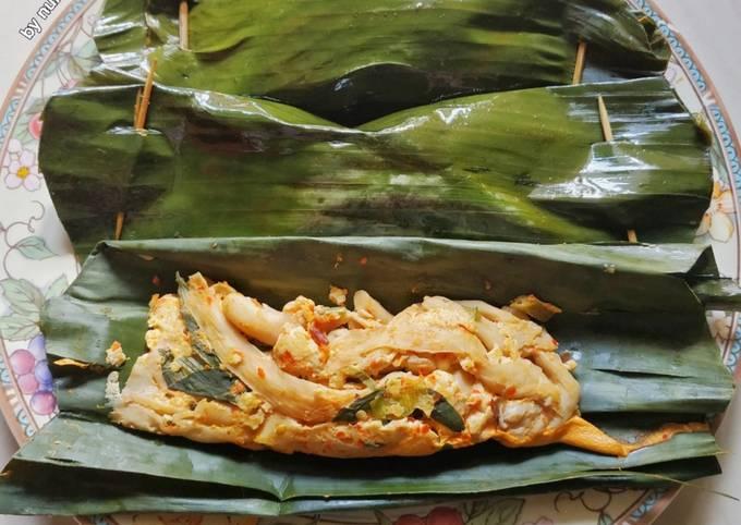 Resep Pepes Tahu Jamur Pedas Oleh Nursita Anjarsih Cookpad