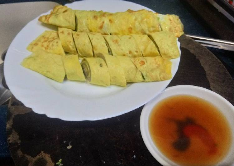 Recipe: Yummy Rolled Fish Egg