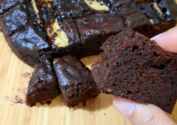 Bagaimana Cara Membuat Berselera Brownies Pisang Kukus Cara Bunda Dinda