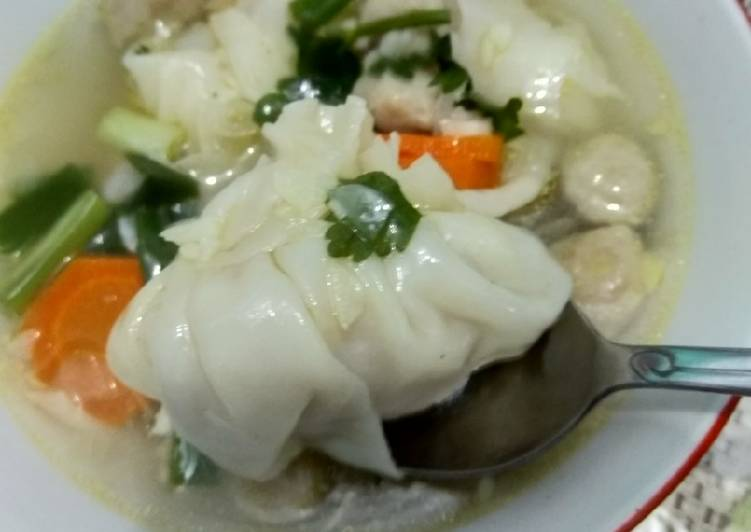 Soup dimsum siomay