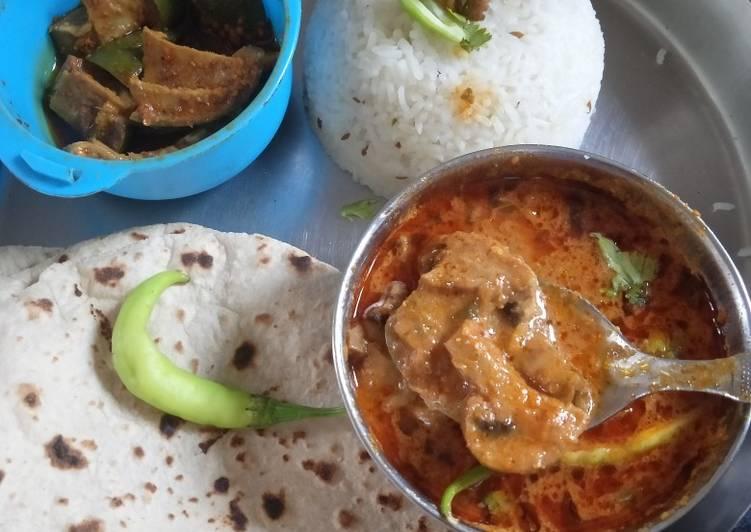 Recipe of Award-winning Kadai mushroom