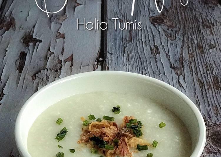 Bubur Nasi Halia - resepipouler.com