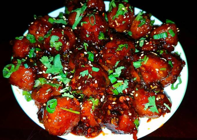 Mike's Sweet, Sticky & Spicy Asian Meatball Appetizers