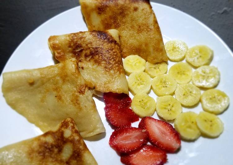 How to Make Ultimate Light crepes