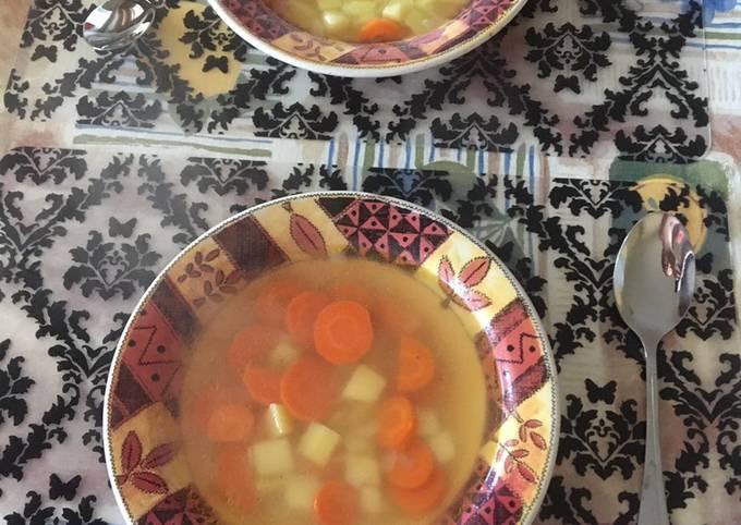 Carrot-potato soup