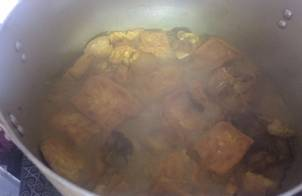 Cá Nheo nấu đậu