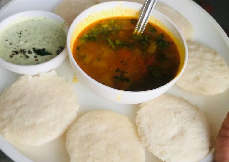 Idli Sambhar Choosing Healthy and balanced Fast Food