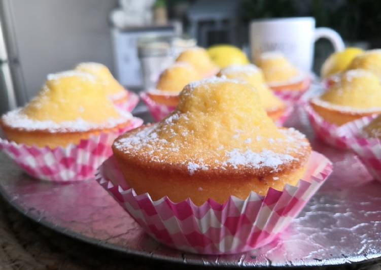 La Délicieuse Recette du Madeleines Espagnoles au citron #Magdalenas al limon