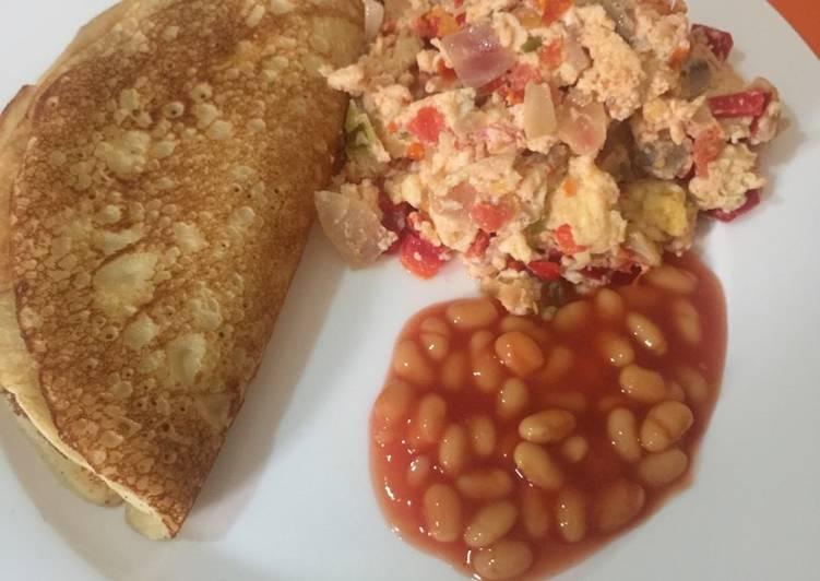 Fluffy Pancake Breakfast