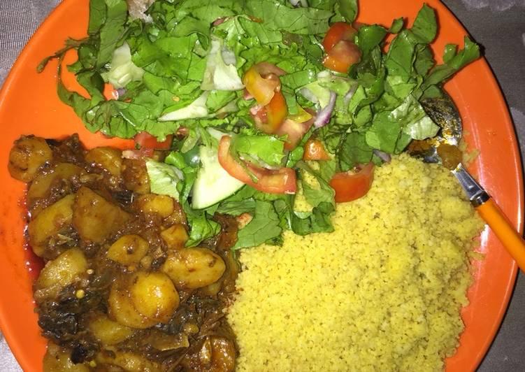 Recipe of Quick Couscous Nd potatoes soup