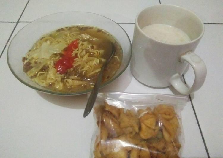 Resep Mie (Indomie) Rasa Empal Gentong yang sederhana