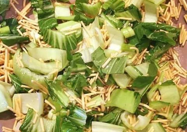 Steps to Make Award-winning #salads# Crispy Bok choy salad