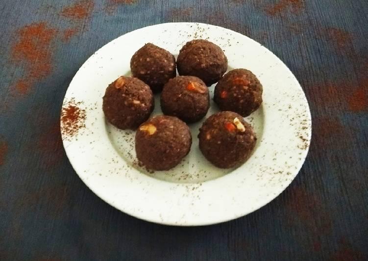 Dark Chocolate Buckwheat Ladoo