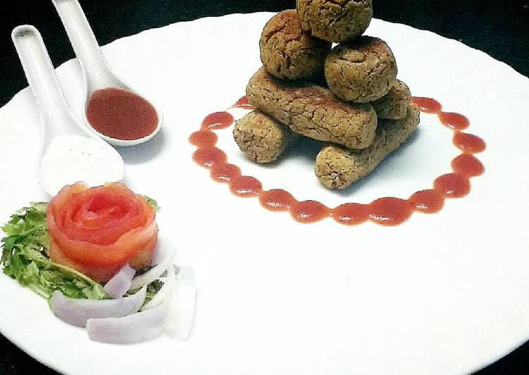Recipe of Ultimate Baked Falafel