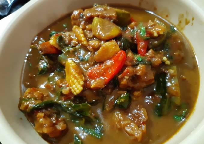 sambal goreng tempe bumbu petis - resepenakbgt.com