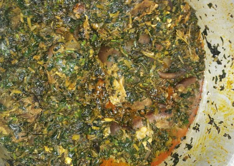 Recipe of Ultimate Vegetable soup with goatmeat
