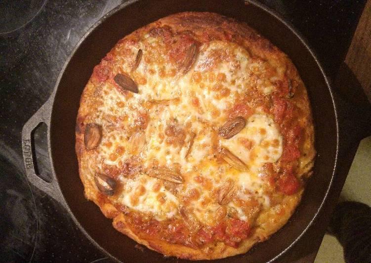 Overnight Focaccia Bread Pizza