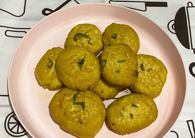 Perkedel Tahu Simple - cookandrecipe.com