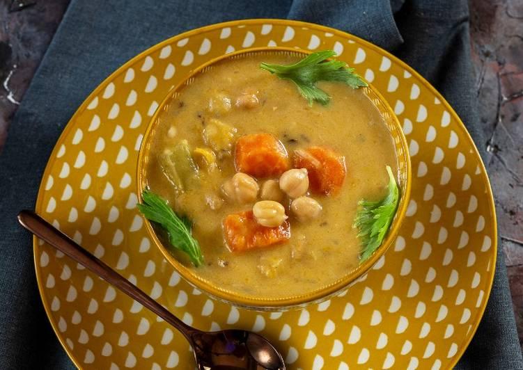 Ricetta Zuppa orientale latte di cocco e zenzero
