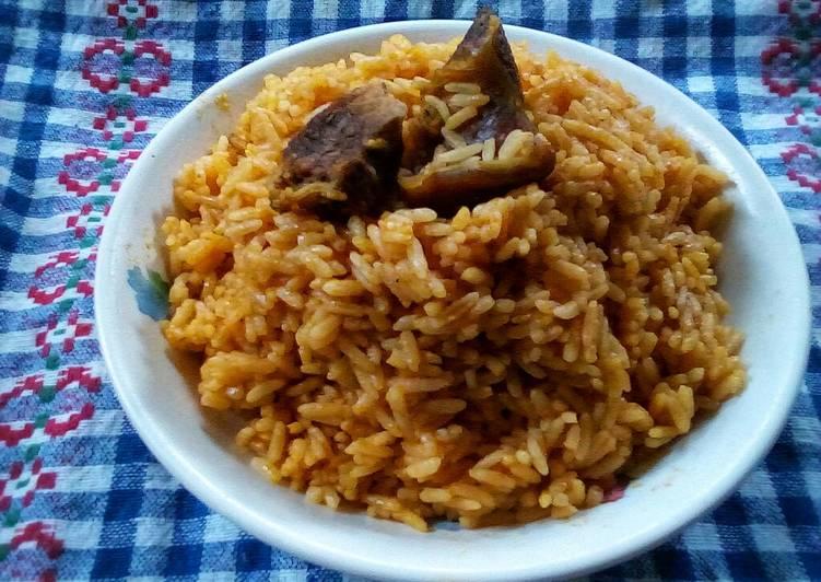 Tasty Tom mix Jollof rice