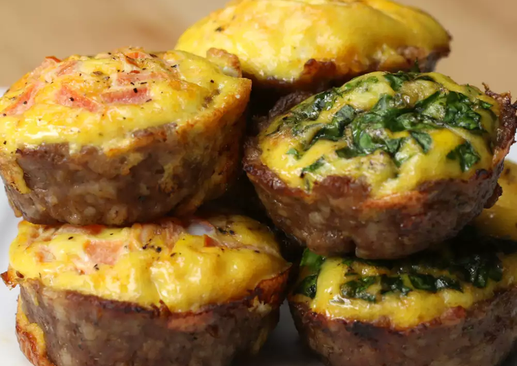 Simple Way to Make Quick Sausage & Egg Breakfast Cups