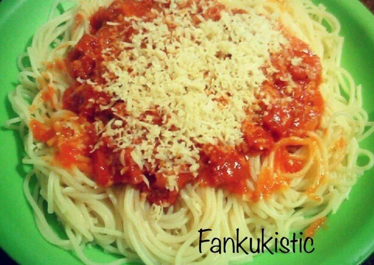 Spaghetti Bolognese Ala Anak Kos