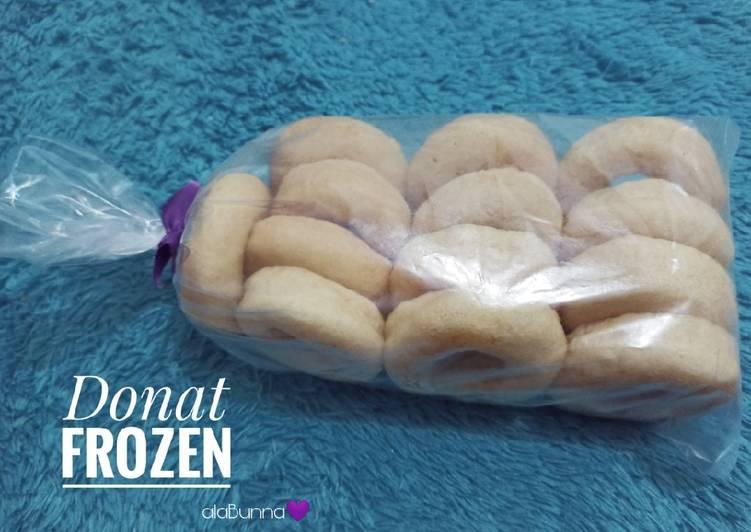 73. Donat Frozen (Donat Takaran Sendok)