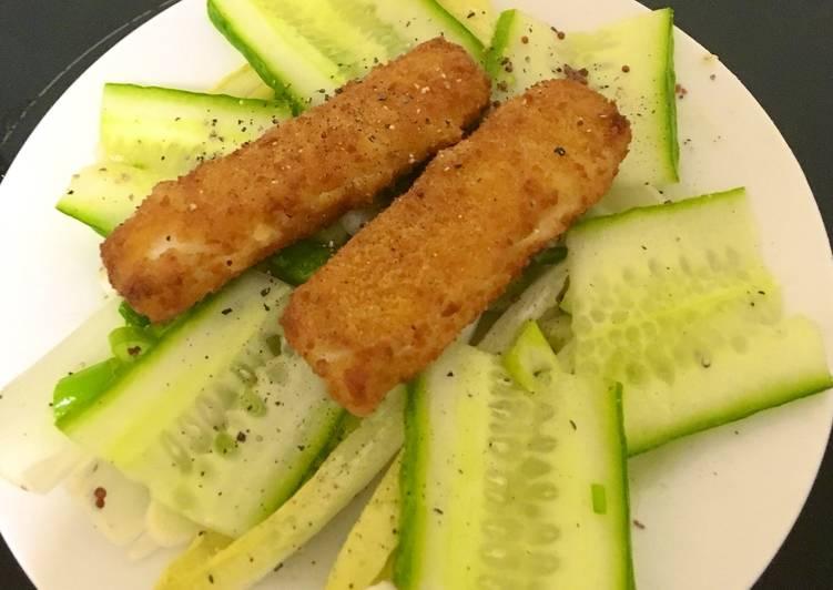 Recipe of Favorite Fish Finger Salad