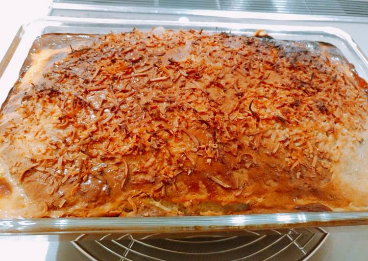 Recipe of Ultimate Filipino Cassava cake♪