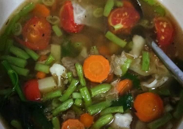 Sop rempah daging sapi
