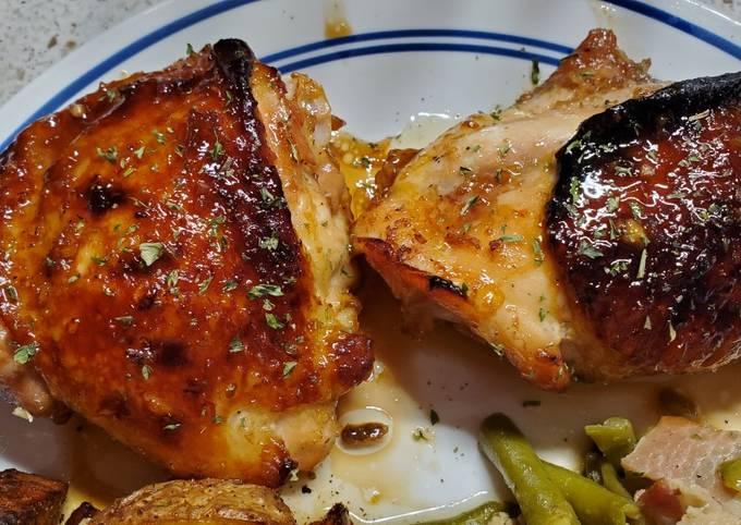 Honey Soy Chicken Thighs